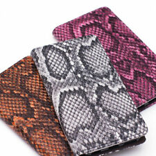 Made-In-Korea, Snake Skin Leather Wallet Case for Galaxy S5 / NoteEdge