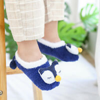 Sweet Animal Coral Fleece Baby Socks Anti-slip Floor Socks Slippers Boots 1-3T//