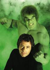 The Incredible Hulk Lou Ferrigno Bill Bixby Stunning POSTER