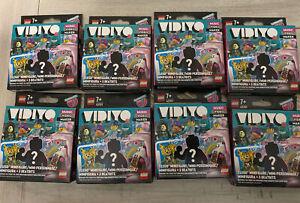 NEW LEGO Vidiyo Bandmates Music Video Maker Minifigures Lot of 8 Boxes Sealed