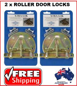 2 x XTRALOK Roller Door Anchor Garage Roller Door Lock  XTRA2A Extra Security