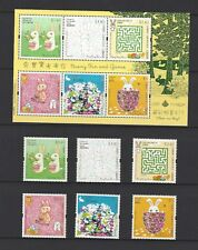 China Hong Kong 2007 Children Stamp - Bunny & Fun Rabbit S/S + Stamps