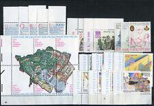 Vaticano annate complete 1986/87/88/89 + posta aerea + foglietti ** MNH