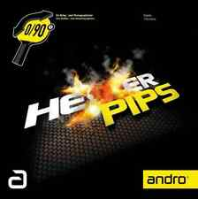 TABLE TENNIS RUBBER: Andro Hexer Pips