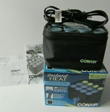 Conair Instant Heat Compact Hair Setter Model HS28RD 12 Ceramic Rollers - MIB
