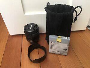 Nikon AF-S 24-85mm ED G Lens w/ 67mm NC Filter - Excellent!