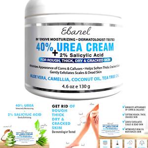Urea Cream 40% Plus Salicylic Acid 4.6 Oz, Callus Remover Hand Cream Foot Cre...
