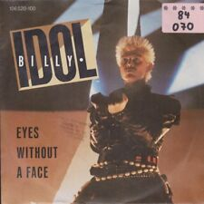 """Billy Idol Eyes Without A Face / The Dead Next Door 7"""" Single 1984 Chrysalis"""