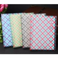 A5 Loose Leaf Plastic Cover Grid Notebook Ruled Diary Journal Note Book Memo #JP
