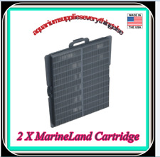 2 X Penguin Refillable Media Cartridge, Fits 200 And 350 Power Filters