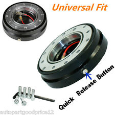 Steering Wheel Quick Release Hub Adapter with Safety Lock Formular Car Boss Kit