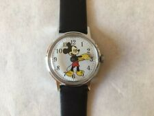 Vintage US Time/Timex Mickey Mouse Fun Timer Unisex 30mm Case Watch - EXE - Runs