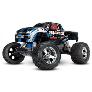 Traxxas Stampede 2WD 1/10 RTR TQ Blau ohne Akku & Ladegerät