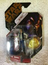 Canadian Variant STAR WAR Han Solo w/ Gold Coin MOC Hasbro RARE Limited