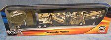 Hotwheels NASCAR Cale Yarborough Truck/Cap Trailer Transporter Tribute 1:64 NEW