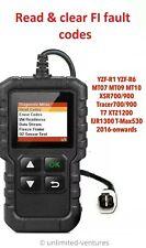 Fault code scanner diagnostic OBD2 tool for Yamaha FI MT10 MT09 XSR900 R1 MT07