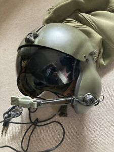 Vietnam War US Army Gentex SPH-4 Helicopter Flight Helmet Extra Large 1969