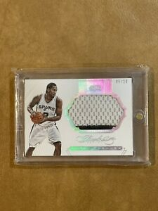 2015 Flawless Kawhi Leonard Game Used Patch, #5/20, Spurs/Raptors/Clippers