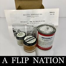 New listing Devcon Aluminum Putty F, 1 lb. Vintage Kit As Pictured Nos