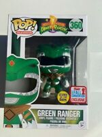 Green Power Ranger Glow GITD NYCC Funko Pop Vinyl NEW IN BOX + Protector