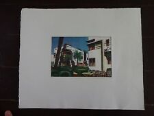 """Carole Sue Lebbin Print """"THE DON-BAR"""" Signed/Numbered """"R"""" and dated 1983"""