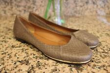 Givenchy Women's Taupe Snake Pattern Ballet Flats Size 6.5 (taco500