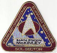 STAR TREK MCKINLEY STATION PATCH - STK08
