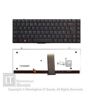 DELL XPS 1340 16 1640 1645 1647 UK Laptop Backlit Keyboard HW184 NSK-DF101