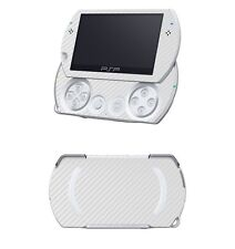 White Carbon Fiber Vinyl Decal Skin Sticker for Sony PSP GO