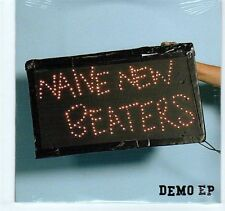 (EA254) Naive New Beaters, 5 track Demo EP - 2008 sealed DJ CD