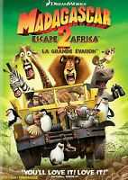 Madagascar: Escape 2 Africa (DVD, 2009) Bilingual FREE SHIPPING IN CANADA