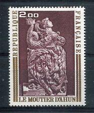 FRANCE 1973, timbre 1743,TABLEAU, ART, BOISERIES du MOUTIER d' AHUN, neuf**