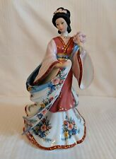 "The Danbury Mint The ""Plum Blossom Princess"" Porcelain Figurine by Lena Liu"