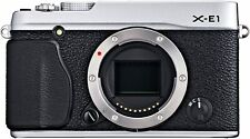 [NEAR MINT] Fujifilm X Series X-E1 16.3MP Digital SLR Camera Silver (N120)