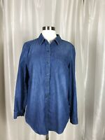 Tommy Hilfiger Womens Demin Top Large