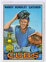 1967 Topps #106 Randy Hundley Chicago Cubs Baseball Card