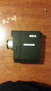 Vintage Argus Super Eight Model 800 Movie Camera W/ Case and Manuals