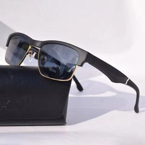 Multifunctional K2 Smart Headset Glasses Business Blu-ray Sunglasses  - Black
