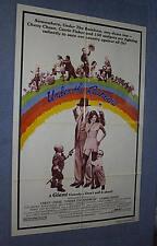 Original UNDER THE RAINBOW Movie Theater Poster