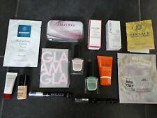 Beautypaket Gesichtspflege Kosmetik Shiseido Lancaster Versace Parfum Proben