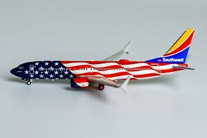 Southwest Boeing 737-800 N500WR Freedom One NG Model 58110 Scale 1:400