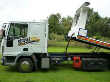 2004 Iveco eurocargo 75e17 7.5 ton recovery tilt and slide and spec lift winch