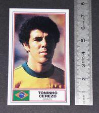 FOOTBALL 1983-1984 TONINHO CEREZO BRASIL ATLETICO MINEIRO AS ROMA CALCIO PANINI