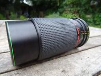 Hanimex 80-200mm f4.5 Macro MC C-Marco Pentax optics clear fully working