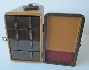 Vintage 3D Realist Format BAJA 200 Slide Storage Case / Box 4 Slide-out Drawers