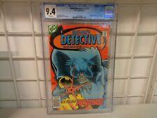 DC COMICS BATMAN COMIC BOOK #474 CGC 9.4 WHITE PAGES 1ST MODERN DEADSHOT