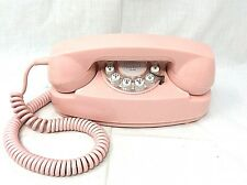 Crosley Pink Princess Desk Telephone Push Button CR 59-P1