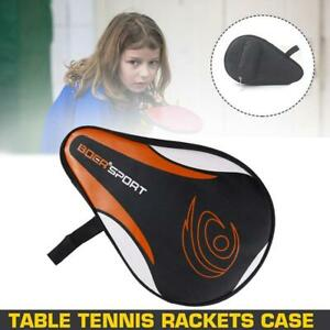 New Portable Sport Table Tennis Racket Case Cover Bag For Pong Paddle Double Bat