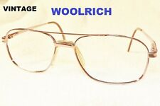 VTG. WOOLRICH AVIATORS GLASSES FOR FRAMES 'WING' BRIDGE IN CASE