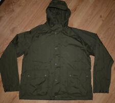 Men's Barbour Croston Casual Lightweight Green Windbreaker Jacket Size XXL